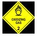 Oxidizing gas