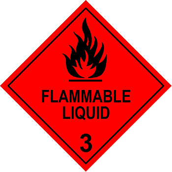 A placard for premises where packaged stores of hazardous chemicals are kept on site