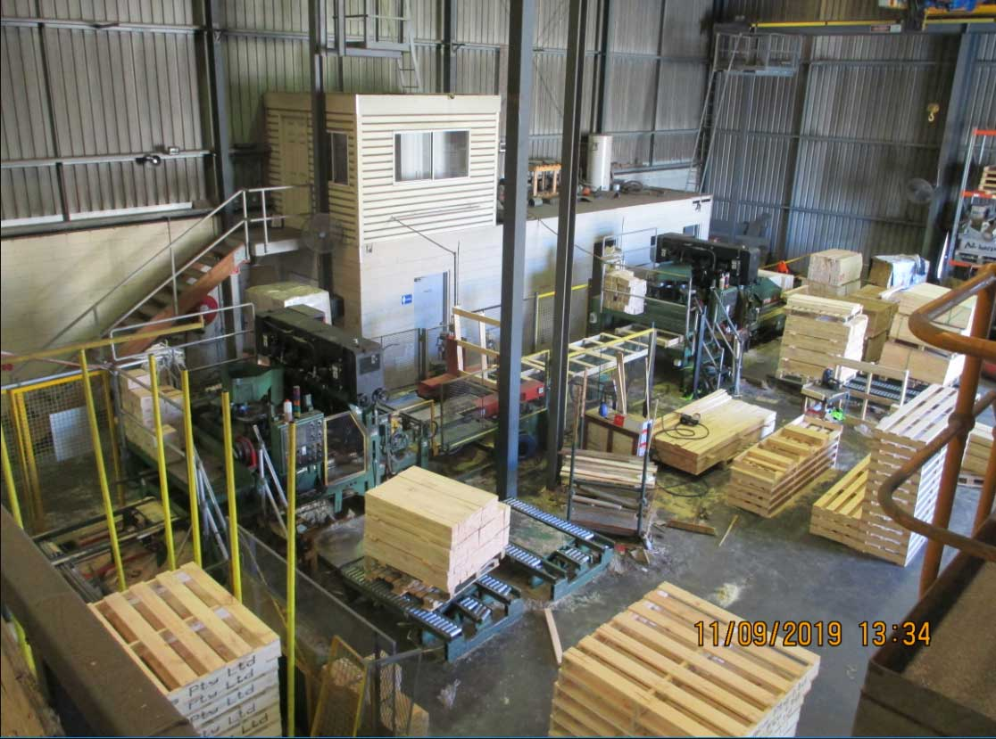 pallet-making machine