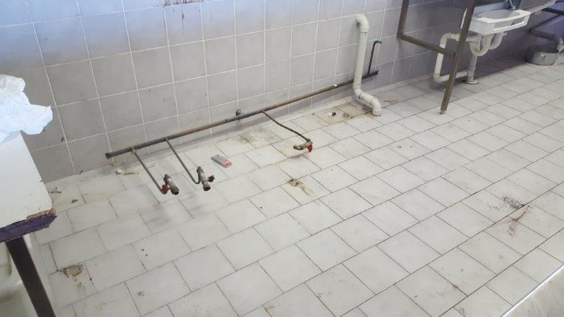 Typical fixed gas installation - any work must be undertaken by a licenced gas fitter.