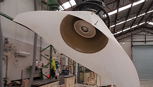 This is a dust extraction fan.