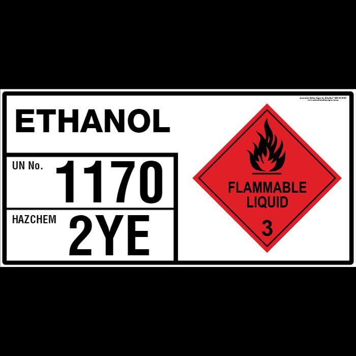 Sample bulk placard